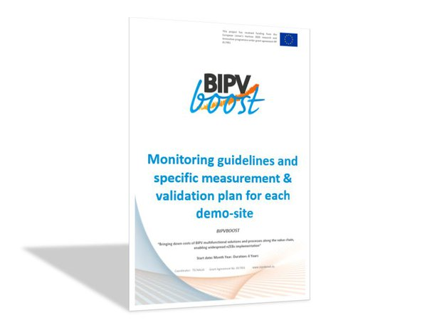 Monitoring guidelines and specific measurement & validation plan for each demonstration site